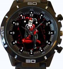 Harley Quinn AMOUREUX NEUF GT Série Sport Unisexe cadeau montre bracelet