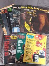 13 x Jazz Journal & Downbeat mags 1976-1980 + 1964