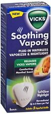 Vicks Soothing Vapors Plug-In Waterless Vaporizer - Nightlight 1 Each(Pack of 3)