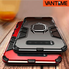 For Samsung Galaxy S21 S20 Note 10 S10 A50 Hybrid Magnetic Ring Holder Hard Case