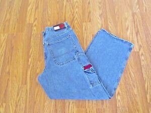 VTG Tommy Hilfiger Red Label Carpenter Blue Jeans~33 x 32