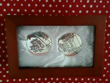 New Things Remembered Babys First Chest & Silver Tone Keepsake Boxes