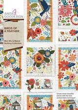 Anita Goodesign Embroidery Machine Design CD BIRDS OF A FEATHER