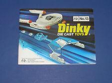 DINKY NO. 13 CATALOG MINT!