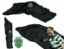 New PUMA Mens Youth SPORTING LISBON Football Tapered Training Pants Black XS