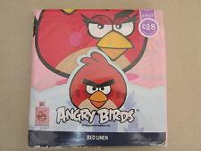 Next Angry Birds Girls Pink Single Bedset/Bedding  Bedlinen Duvet Pillowcase