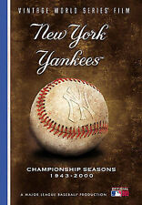 MLB -- 5 DVD's -- World Series Films - New York Yankees: 17 Championship Seasons