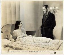 REX HARRISON, MARGARET LOCKWOOD original movie photo 1940 NIGHT TRAIN