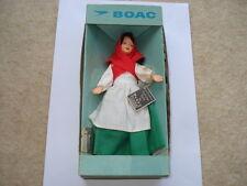 C1960S VINTAGE B.O.A.C.PEGGY NISBET IRISH COSTUME LADY IN ORIGINAL BOX