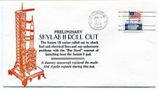 1973 SKYLAB 2 Roll Out Saturn 1B Apollo Capsule Cape Canaveral NASA USA Space