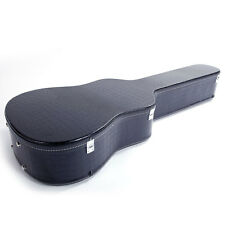 """41"""" Flat Surface Artificial Leather Acoustic Guitar Hard Shell Case"""