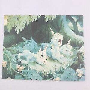 Walt Disney's Masterpiece Fantasia Unicorns The Pastoral Symphony Greeting Card