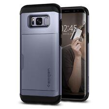 Spigen Galaxy S8 Plus Case Slim Armor CS Card Slider Orchid Gray