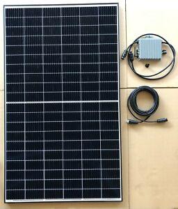 BKW 375 Watt Balkonkraftwerk Mini PV Photovoltaik Solaranlage Garten Haus Strom