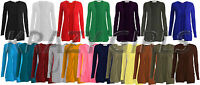 Brand New Womens Long Sleeve Boyfriend Style Girls Cardigan Top Ladies Size 8-26