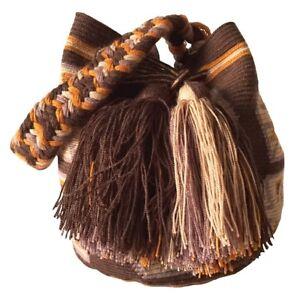 OOAK Traditional and OriginalWayúu MOCHILA Bag Medium Size Shoulder Bag