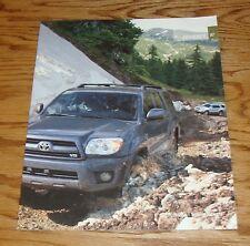 Original 2007 Toyota 4Runner Sales Brochure 07