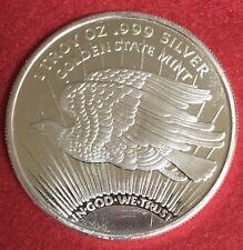 1 oz -1933 Double Eagle silver round .999 pure One Troy Ounce - B.U.GEMS # JJ