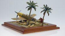 1/72 Pro-Built Plastic Model German Messerschmitt Bf-109E4 North Afrika Diorama