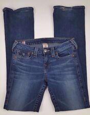 True Religion Becky Jeans 29 Womens Blue Denim Usa Size Women 10564 Cotton Blend