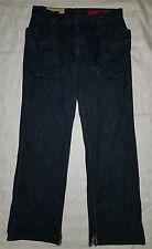 Size 32 BAGGY POCKET Dark Blue Jeans - Tough Jeansmith