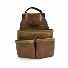 Style n Craft  98435 - 9 Pocket Nail & Tool Pouch in Top Grain Leather