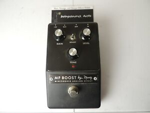 Moog MF-Boost Booster Effects Pedal Minifooger Free USA Shipping