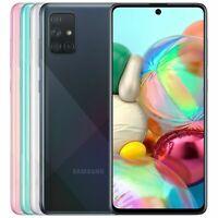"""NEW Samsung Galaxy A71 128GB 6GB SM-A715F/DS FACTORY UNLOCKED 6.7"""" 64MP DUAL SIM"""