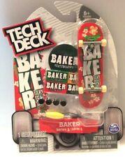 New ULTRA RARE Tech Deck BAKER Fingerboards Skateboards SK8 Series 5 USA Seller