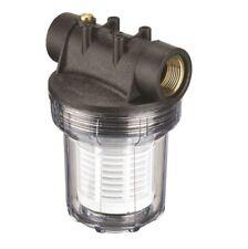 "Inline Mesh Strainer Water Filter 25mm 1"" Irrigation Pump Pre Filter"