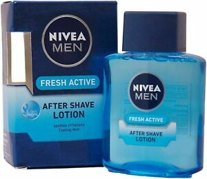 Nivea Men Fresh Active After Shave Lotion - 100 ml + FREE SHIPPING -USA