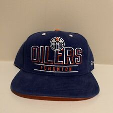 Edmonton Oilers Snapback Hat NHL Hockey Reebok NWOT New Without Tags One Size