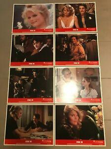 Original Lobby Card Set (8) 11x14: Star 80 (1983) Mariel Hemingway,Eric Roberts