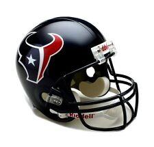 Houston Texans NFL Team Logo Riddell Deluxe Full Size Football Helmet