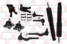 For Mitsubishi Montero Sport 97-99 Front Shocks Ball Joints Tie Rods Inner Outer