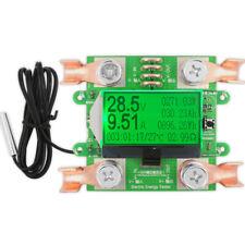 300V 100A Digital DC Voltmeter Amp Volt Meter Battery Capacity Tester
