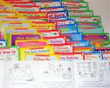 Homeschooling Teaching Reading Set 60 Books Preschool Kindergarten Leveled ABCD