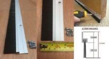 Bas de Porte Brosse Bande Draught Exclure Scellé 915mm Aluminium Couleur Qté 12