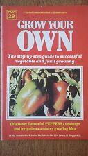 PEPPERS Seeds Marshall Cavendish Gardening Veg Grow Your Own Handbook Part 29