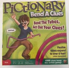 NEW Pictionary Bend-A-Clues Game by Mattel
