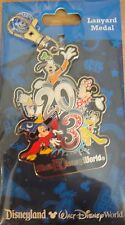 Disney 2013 Mickey and Friends - Lanyard Medal- New on Original Card- Pin# 85849