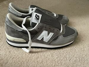 NWOB New Balance 990 30th Anniversary Made In USA M990GRY Gray Shoes Men size 12