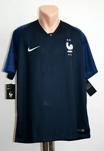 New France Jersey World Cup 2018 Nike Soccer size XL Home French Football