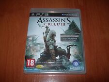 ASSASSIN´S CREED III PS3 (PAL ESPAÑA PRECINTADO)