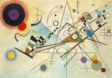 Wassily Kandinsky 1923 Composition VIII Art Poster Print Abstract Picture A4
