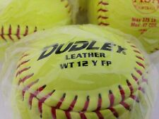 Dudley Softball Sy-12 Rf Fp Thunder Fast Pitch Sy Cor.47 Asa Certified Free Ship