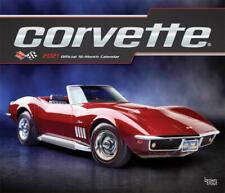 CORVETTE - 2021 WALL CALENDAR - BRAND NEW - 18267