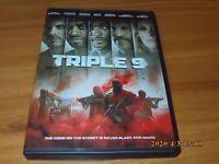 Triple 9 (DVD, Widescreen 2016)