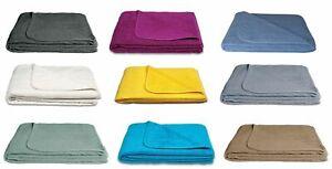 Frotteedecke Tagesdecke Sommerdecke softig weich 100% Baumwolle 150x200 cm