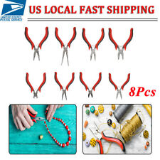 8Pcs Jewelry Making Tools Repair Kit Jewelry Pliers Beading Wire Set DIY Craft